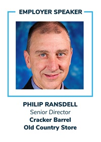 Philip Ransdell, Senior Director, Cracker Barrel Old Country Store